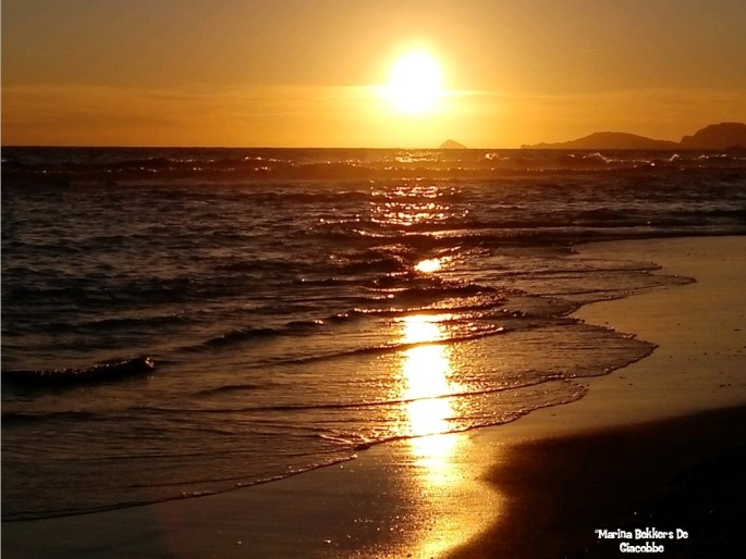 Sunset mare
